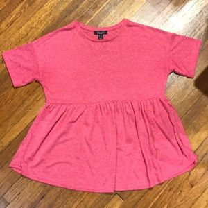 Short Sleeve Pink  Maternity Top